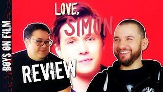MOVIE REVIEW: Love, Simon starring Nick Robinson || Boys On Film