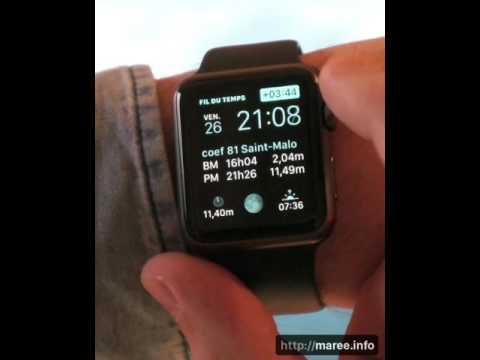 marée.info pour Apple Watch