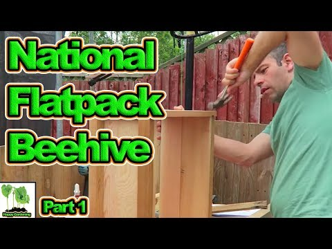 , title : 'Building My First National Bee Hive  Part 1