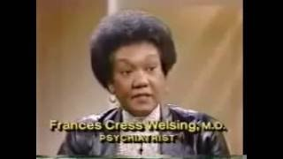 Dr Frances Cress Welsing - Lecture on Black Dr. Frances Cress Welsing - Phil Donahue Show