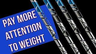 Choosing Shaft Weight
