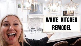ALL WHITE KITCHEN REMODEL!