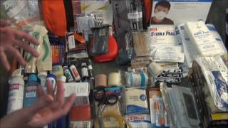 First Responder First Aid Kit  - Part 1 The Contents