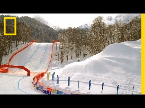 How Snow Machines Create Snow For The Winter Olympics