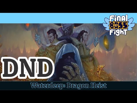 Video thumbnail for Dungeons and Dragons – Waterdeep: Dragon Heist – Episode 1