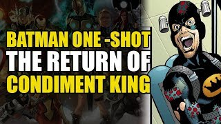 Condiment King Returns! (DC Rebirth: Batman Ghosts of The Past)