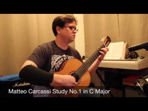 Matteo Carcassi Etude No.1 in C Major