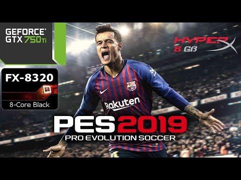 Pro Evolution Soccer 2019 Demo - GTX 750 ti - G4560 - 1080p