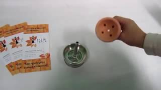 Чаша для кальяна Euro Shisha BGS-07 с бачей, видеообзор 1