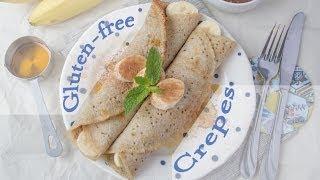 Delicious Gluten-free Vegan Crepes