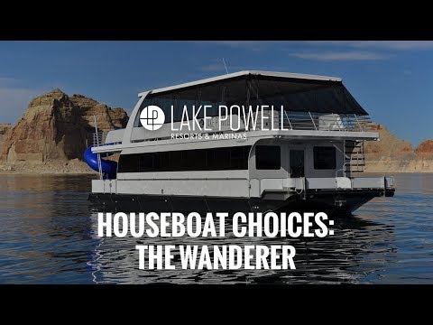 The Wanderer Houseboat | Lake Powell