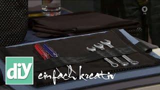 Werkzeugtasche aus Antirutschmatte | DIY einfach kreativ