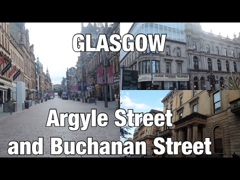 Wandering Around Glasgow City Centre - Argyle Street And Buchanan Street Mp3
