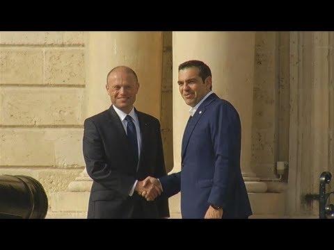 Στη Βαλέτα ο πρωθυπουργός για τη Σύνοδο των χωρών του Ευρωπαϊκού Νότου