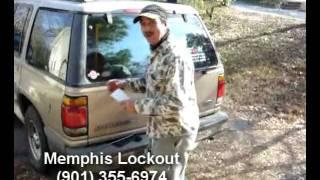 How to: Ford Explorer Lockout w Olen Batchelor Memphis Lockout & Roadside Assistance