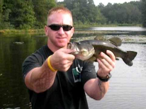 Bass Fishing on Nanticoke Pond