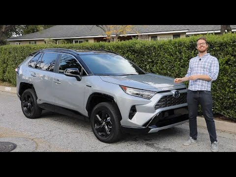 2020 Toyota RAV4 Hybrid Test Drive Video Review