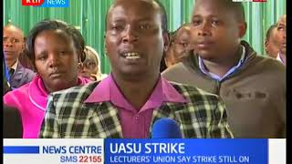 Karatina University staff join in the ongoing UASU strike : News Centre.