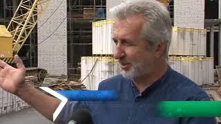Репортаж из большого зала филармонии, где проходит реконструкция
