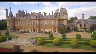 Waddesdon From The Air