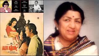 Aur Kaun - Bappi Lahiri - Amit Khanna - Lata   - YouTube