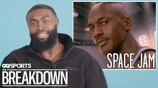 Jaylen Brown Breaks Down Basketball Scenes from Movies   GQ Sports