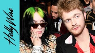 Billie Eilish's Brother Finneas Talks Working w/ Selena Gomez at American Music Awards! | Hollywire