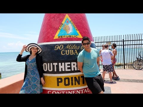Video THINGS TO DO IN KEY WEST FLORIDA |  SOUTHERNMOST POINT | DUVAL STREET