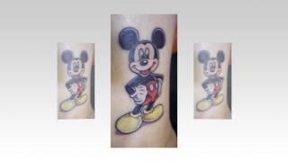 Mickey Mouse Tattoo Modelle In Der Regel Für Frauen (Slideshow)