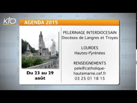 Agenda du 24 juillet 2015