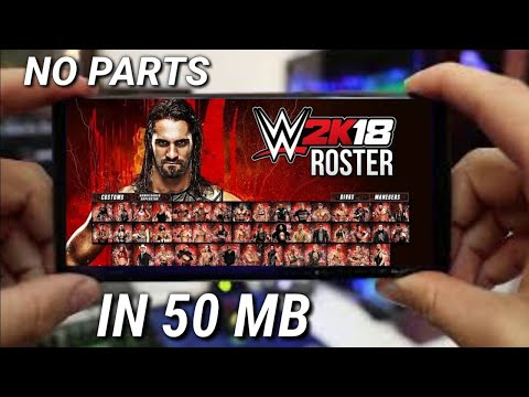 WWE 2k18 in 50mb high compressed psp|how to download WWE 2k18 in Android psp