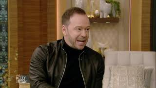 Donnie Wahlberg Talks About Watching the Patriots Win the Super Bowl with His Son