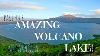The Journey | Part 4 | Laguna de Apoyo, Stunning Volcano Lake!