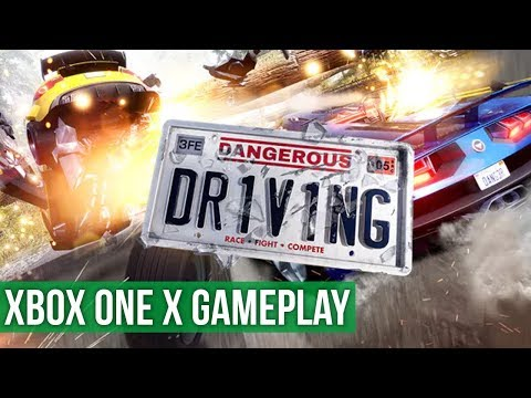 Dangerous Driving ► Xbox One X Gameplay / Preview