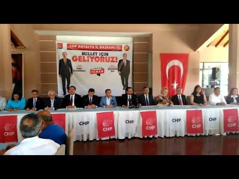 CHP'li adaylar görücüye çıktı