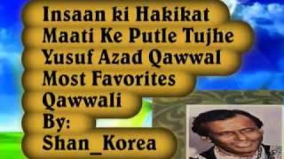 Maati Ke Putle Tujhe Kitna Guman.flv - YouTube