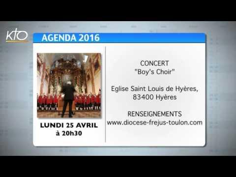 Agenda du 4 avril 2016