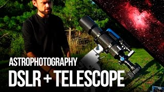 Astrophotography with a DSLR and Telescope (& My Results)
