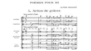Olivier Messiaen : Poème pour mi