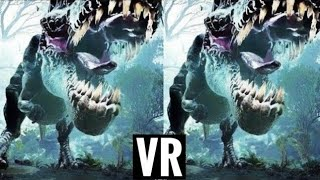 🔴 [VR VIDEOS 3D] Dinosaur VR Scream in Virtual Reality for VR BOX 3D SBS 1080p