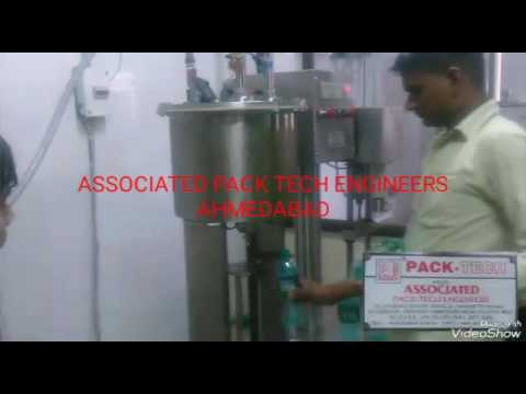 Automatic 3 In 1 Carbonated Drink Bottling Machine