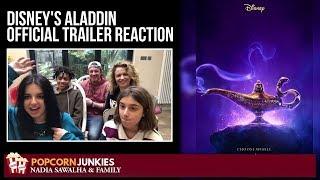 Disney's Aladdin Official Trailer #3 - Nadia Sawalha & The Popcorn Junkies Reaction