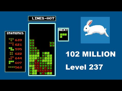 AI BREAKS NES TETRIS! - 102 MILLION and level 237