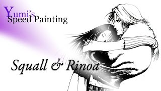 Yumi's SpeedPainting: Squall & Rinoa (Final Fantasy VIII) feat. Angela Aki - Eyes on Me