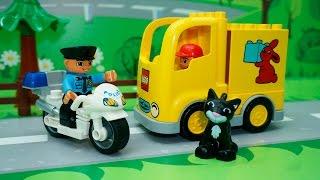 Видео для детей с игрушками Лего - Пропавший тортик.