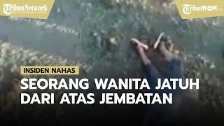 Insiden Nahas Dialami Wanita di Sampang, Terjatuh dari Atas Jembatan saat Ada di Sebuah Rumah Makan