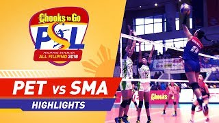 Highlights: Petron vs. Smart | PSL All-Filipino Conference 2018