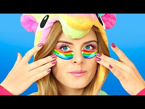 8 Erstaunliche Einhorn Make-Up-Ideen