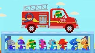 Автомастерская Собираем машины помощники - Мультики про машинки для малышей