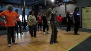 Knock Me Out Soul Line Dance | Instructional & Demo